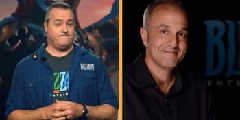Blizzard leaders J. Allen Brack and Allen Adham on leaks, Reforged lessons, mobile, and more