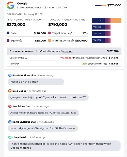 Candor crowdsources a database of tech job salaries candor 2