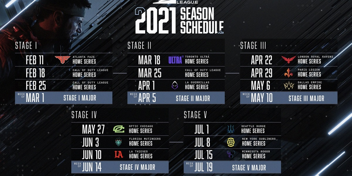 The Call of Duty League gets underway on February 11.