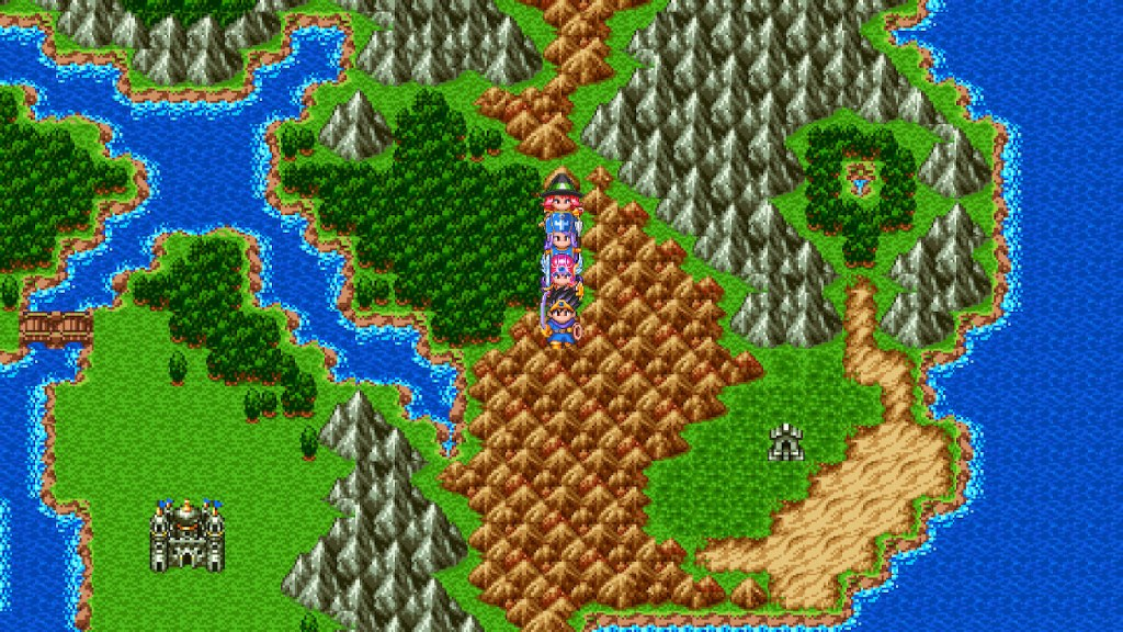 Overworlds rule.  The RetroBeat: Dragon Quest III is as good as 8-bit era RPGs get dragon quest iii the seeds of salvation switch screenshot04