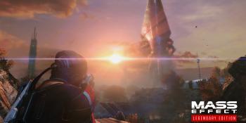 BioWare used AI upscaling to remaster Mass Effect's original textures