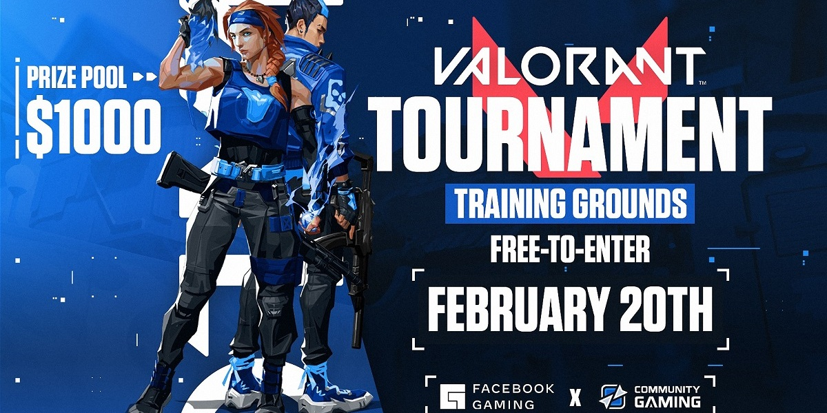 Facebook Gaming will host a Valorant tournament.