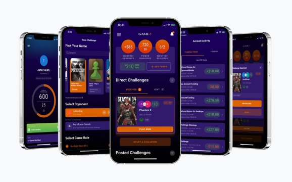 Game+ is launching a mobile app for skill-based game competitions.