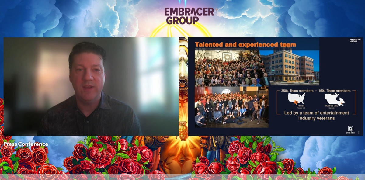 Randy Pitchford: The magic behind Gearbox's merger with Embracer Group