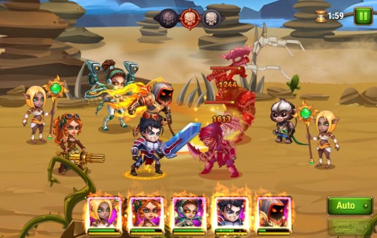 Hero Wars RPG is the main revenue generator for Nexters.
