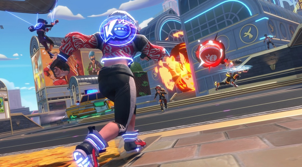 Velan Studios will launch Knockout City dodgeball game on May 21 knock 2