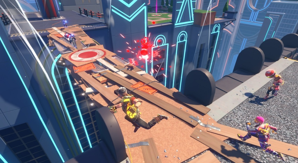 Velan Studios will launch Knockout City dodgeball game on May 21 knock 3