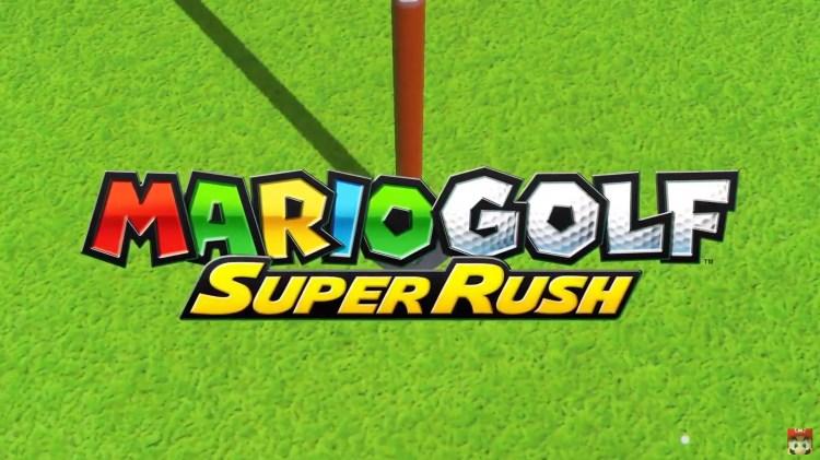 Mario Golf: Super Rush.