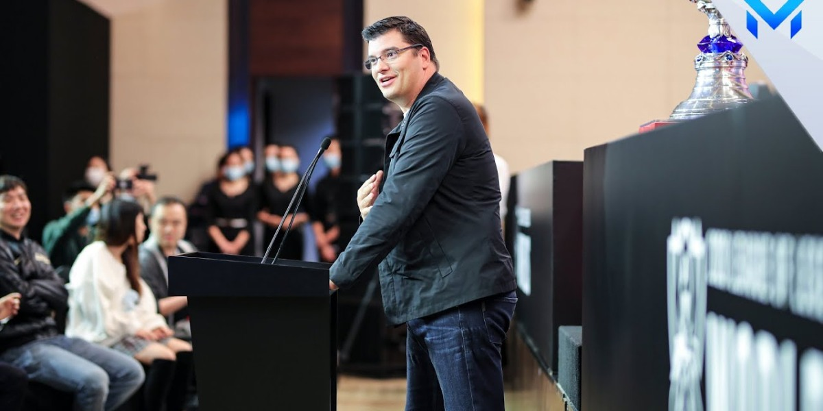 Riot Games chief executive officer Nicolo Laurent.