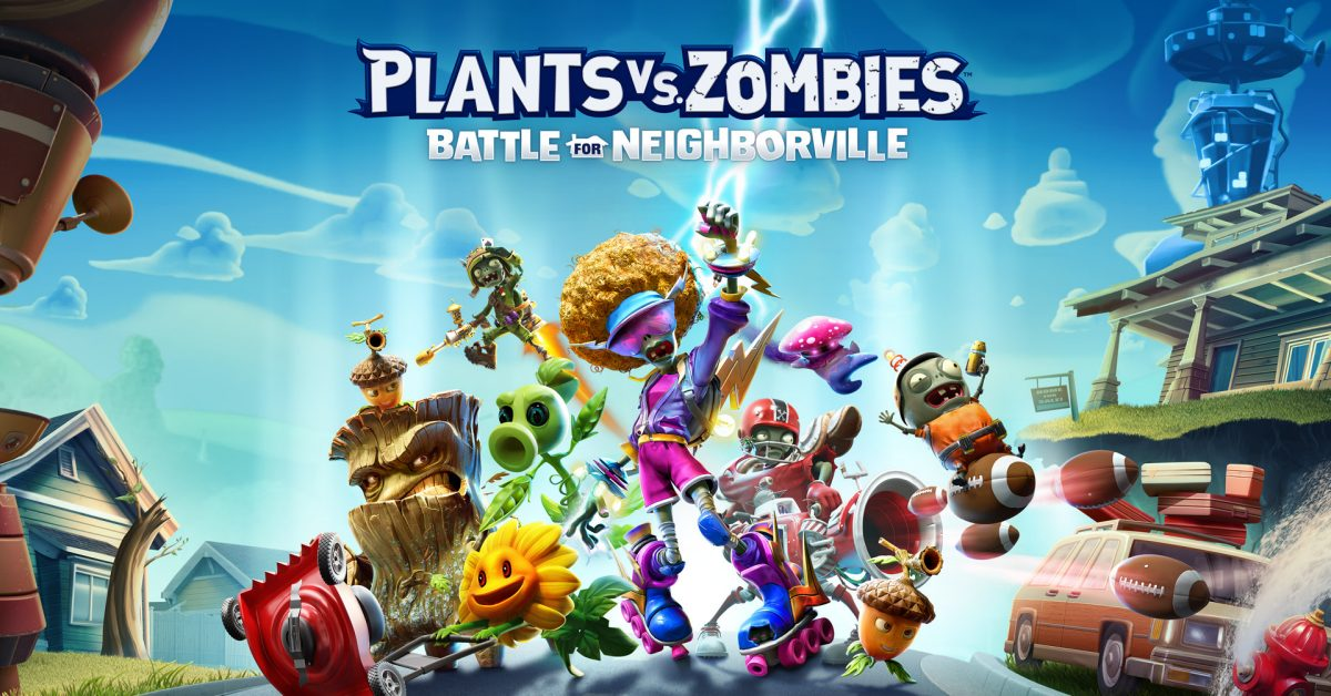 Plants Vs Zombies Battle For Neighborville Hits Switch On March 19 Venturebeat