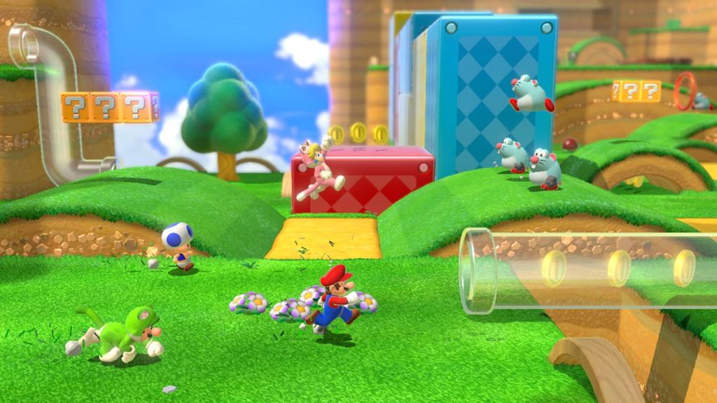 Super Mario 3D World is a top-tier Mario game.  Super Mario 3D World + Bowser's Fury review — 3D platforming bliss super mario 3d world plus bowsers fury switch screenshot01
