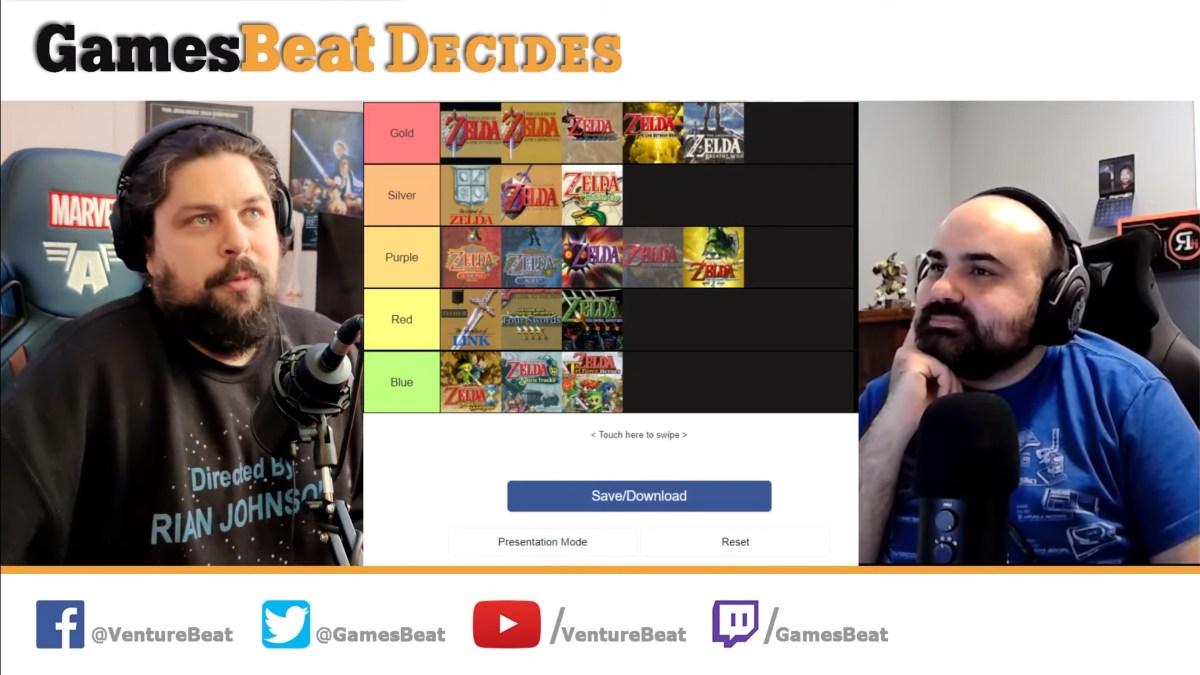 GamesBeat Decides: The best (and worst) Zelda games - VentureBeat