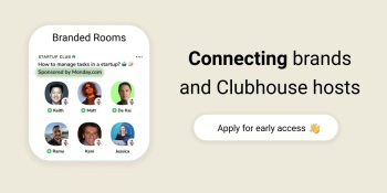 Clubmarket launches sponsorship marketplace to monetize Clubhouse