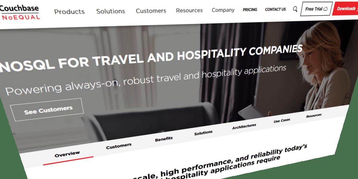 Couchbase homepage