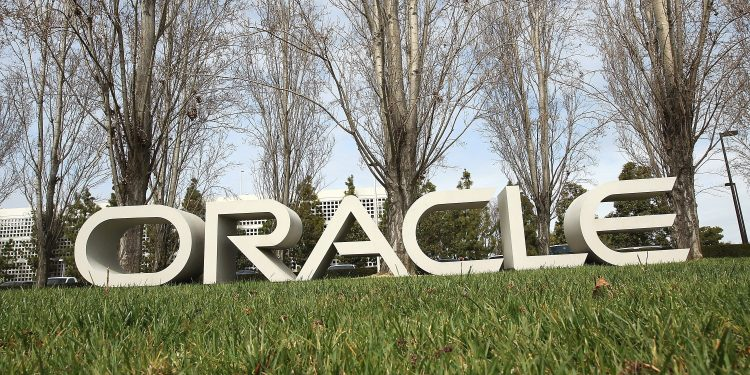 Oracle Logo Sign