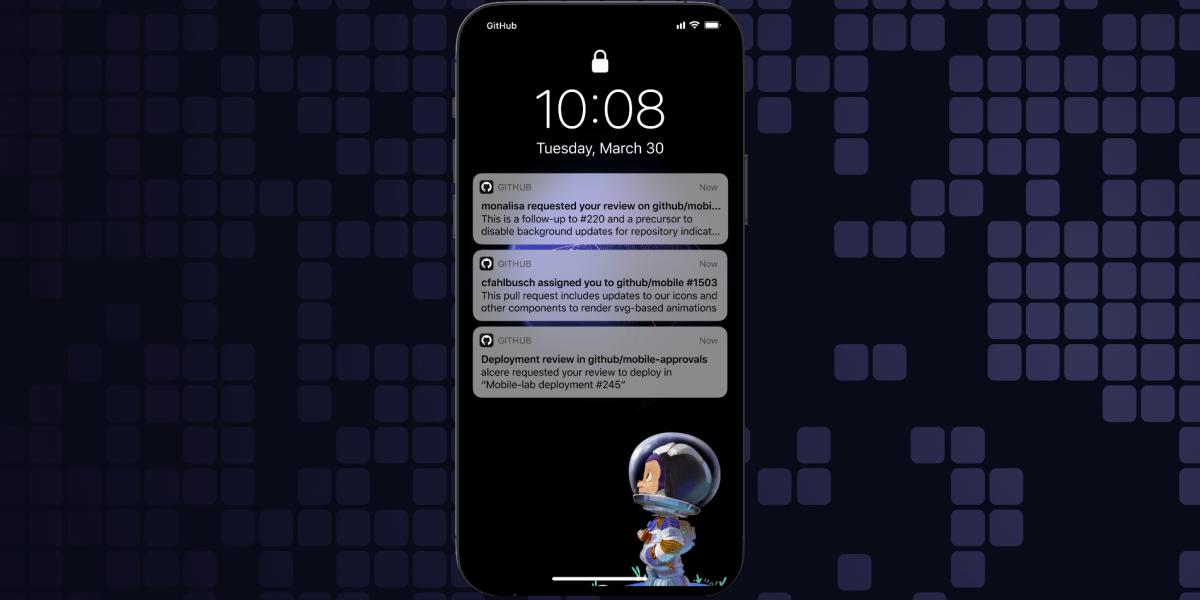 GitHub: Granular push notifications