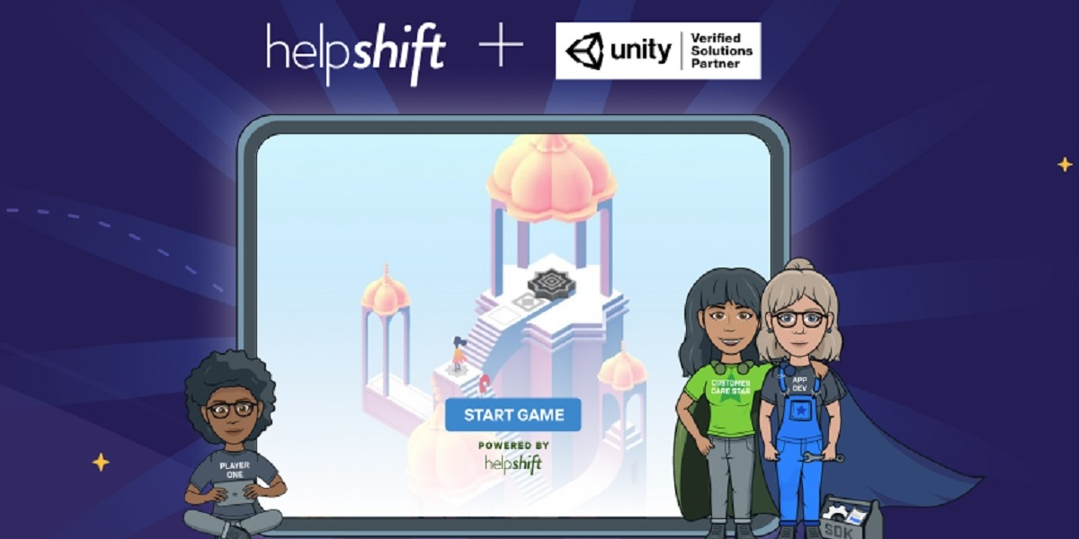Helpshift has teamed up with Unity for support automation.