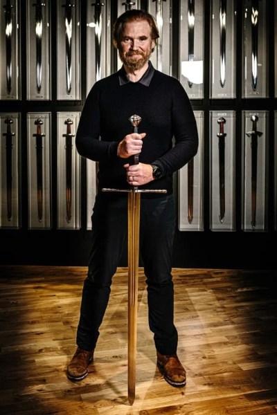Hilmar Veigar Pétursson interview: Remembering 20 years of Eve Online Hilmar Sword 2
