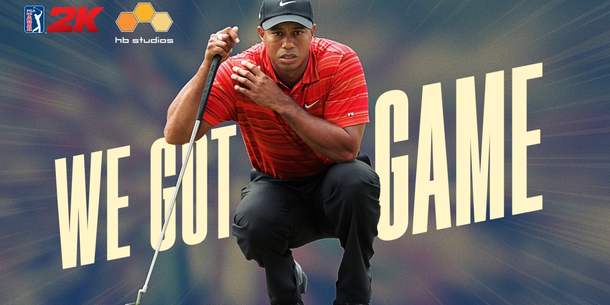 Tiger Woods is back in the (virtual) golf game.
