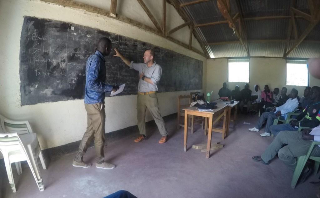 How Kurt Davis quit the tech life to help people in Africa for a year africa kakuma