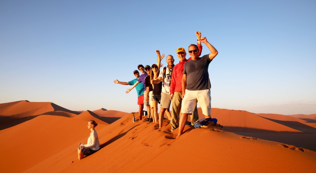 How Kurt Davis quit the tech life to help people in Africa for a year africa namibia overland