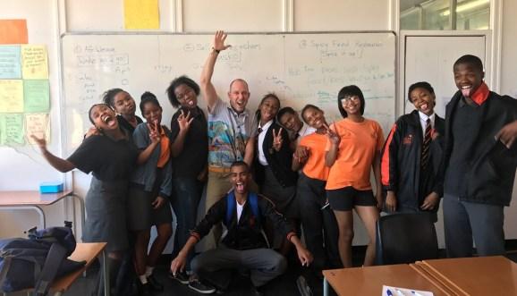 Kurt Davis met with Team 4 Tech nonprofit in Africa.