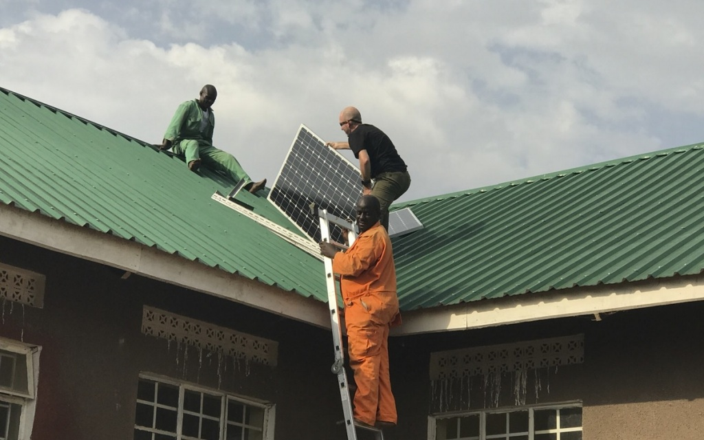 How Kurt Davis quit the tech life to help people in Africa for a year africa uganda solar