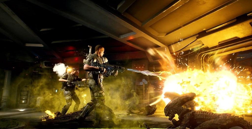Aliens: Fireteam preview — I've got movement! aliens 2