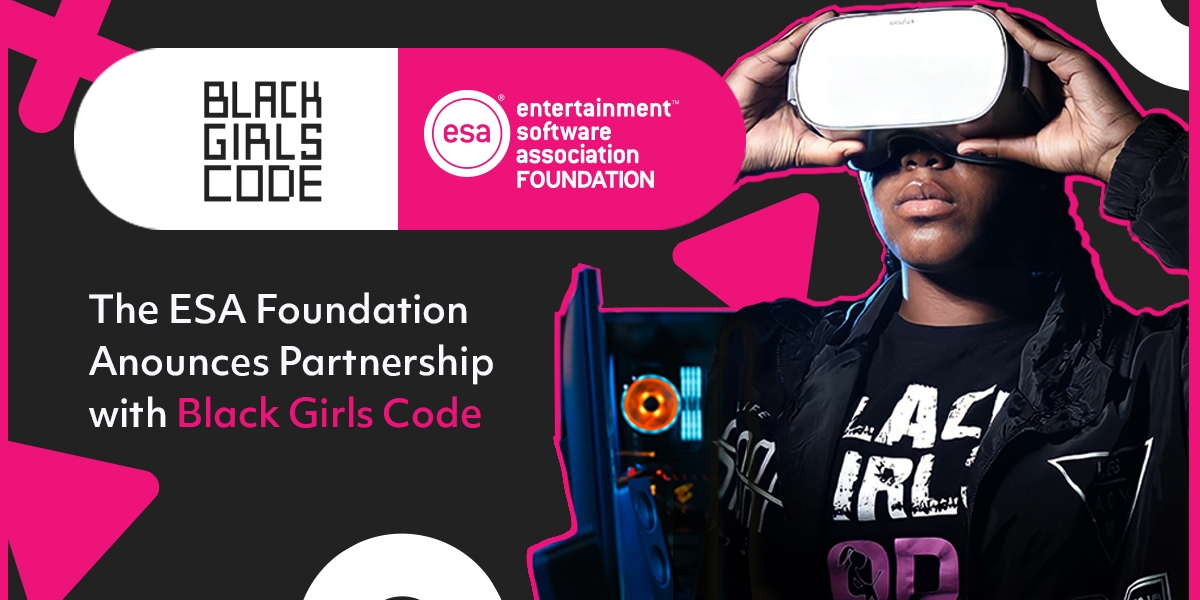 The ESA and the ESA Foundation are partnering with Black Girls Code.