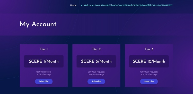 Cere Network is creating a decentralized data cloud network.