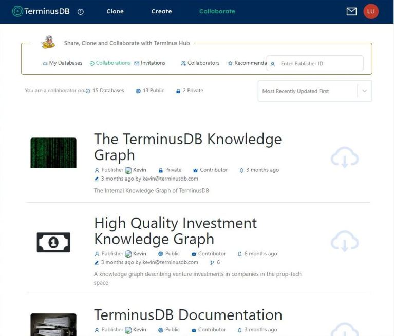 How TerminusDB is commercializing its open source graph database collaborate screen