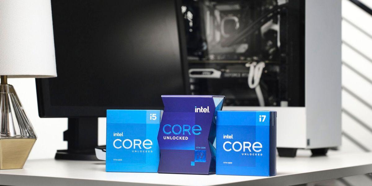 Intel's Rocket Lake-S family.