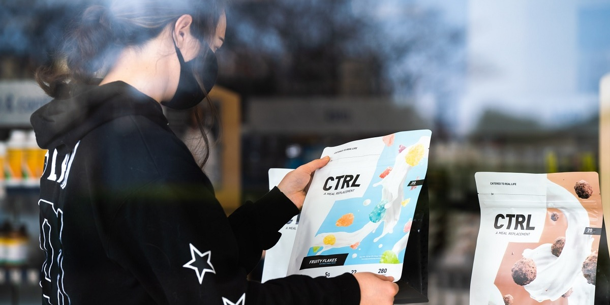 Ctrl is targeting gamers with its nutritious meal-replacement shakes.