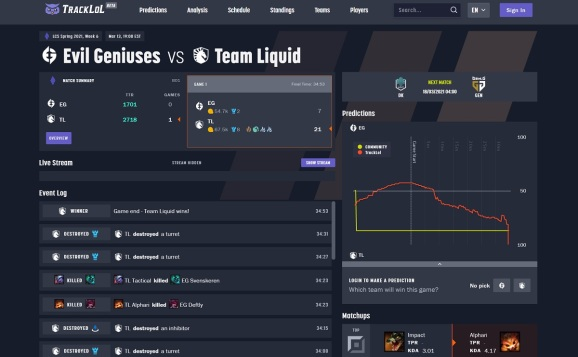 Elo Entertainment can predict how matches will turn out.