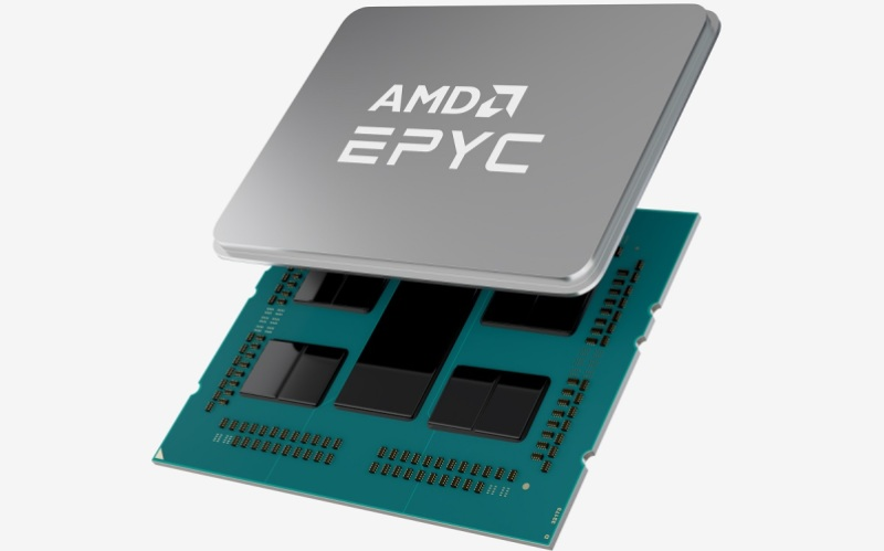 AMD Epyc 3.0 series chips are shipping now for servers.
