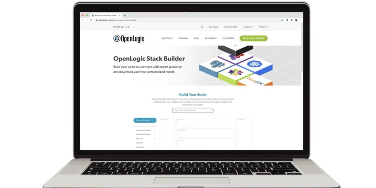 OpenLogic: Stack Builder