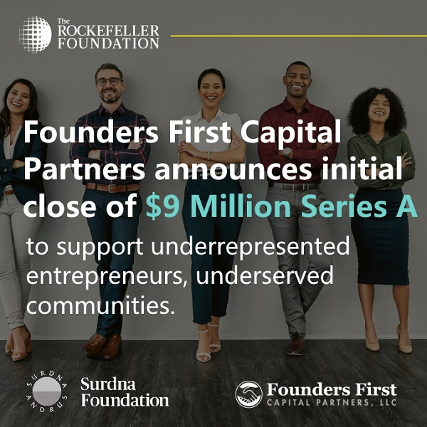 Founders First raises $9 million to invest in diverse founders founders 1