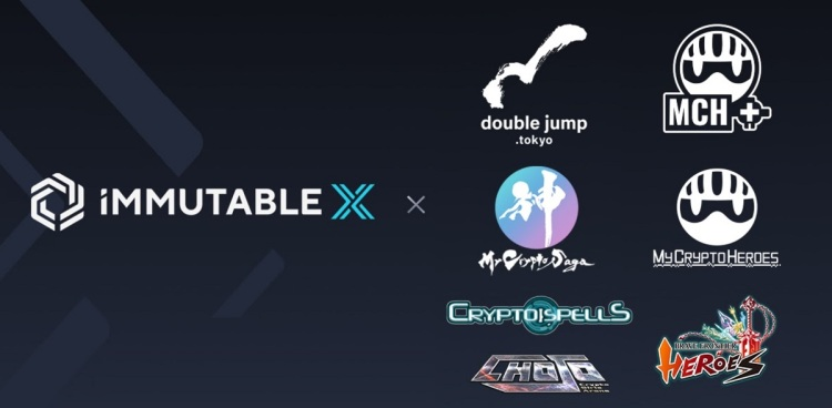 Immutable X is getting four new games from Japan.