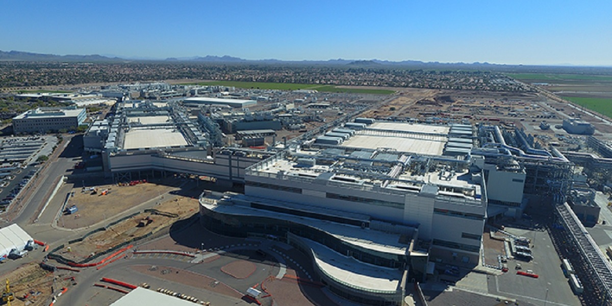 Intel's newest factory, Fab 42, became fully operational in 2020 on the company's Ocotillo campus in Chandler, Arizona.