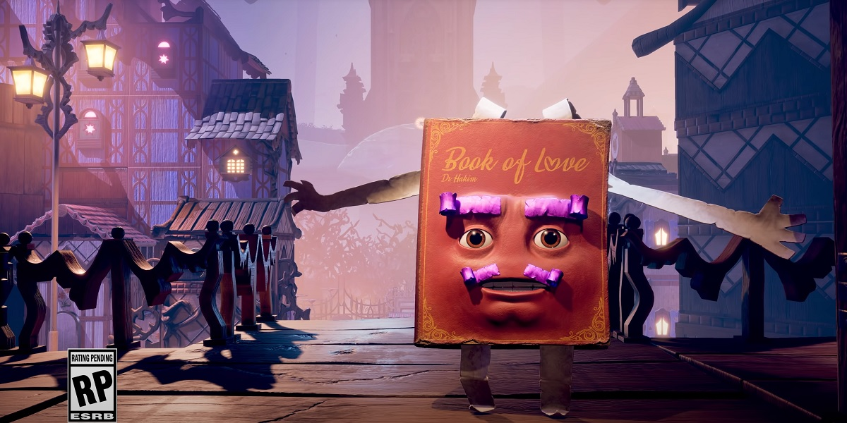 The Book of Love is a hilarious narrator in It Takes Two.