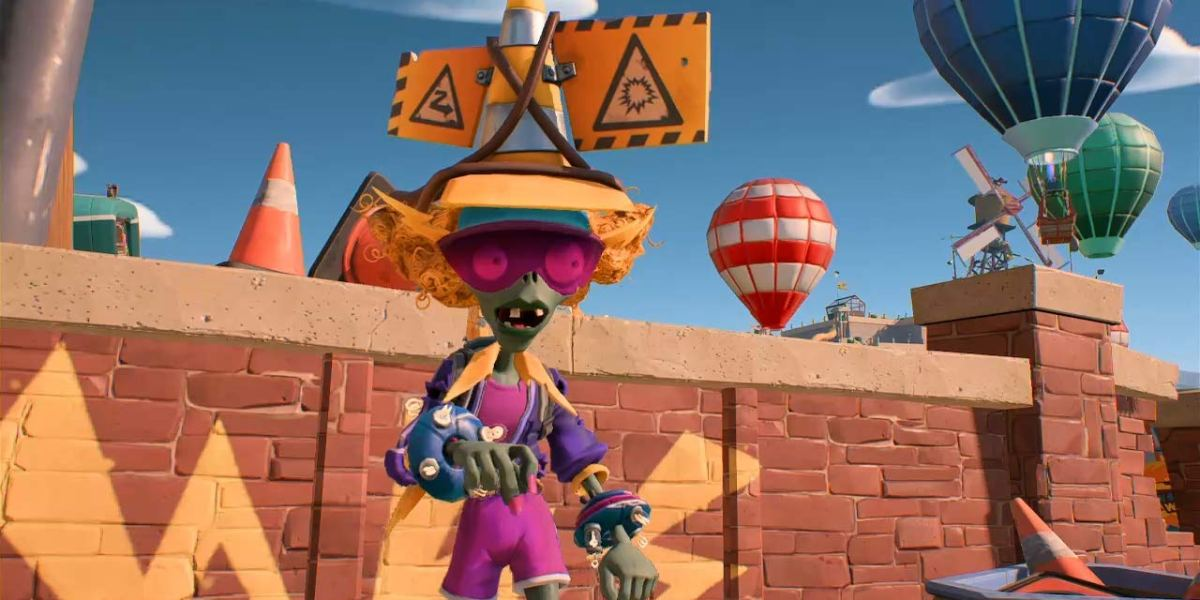 Plants vs. Zombies: Battle for Neighborville on Switch.