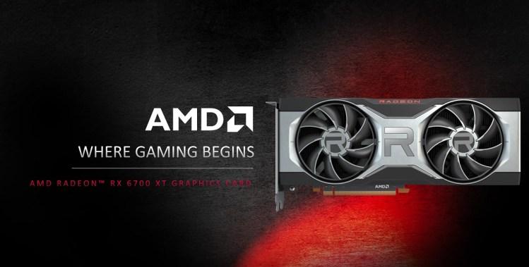 AMD's Radeon RX 6700 XT