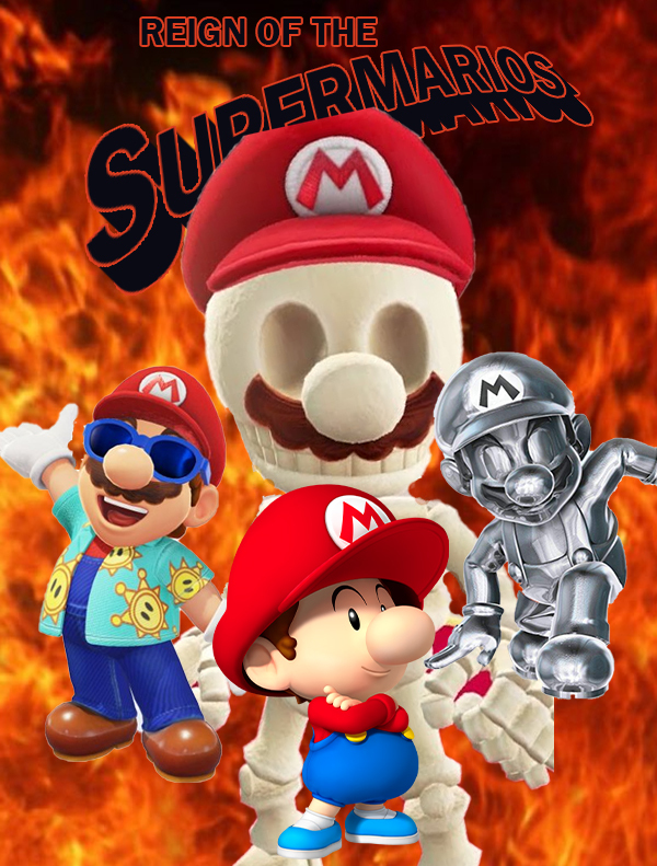 reign of the supermarios