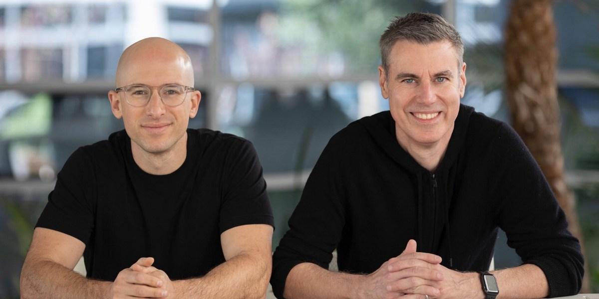 Evan Richter (left) and Eric Garland of Smash Ventures.