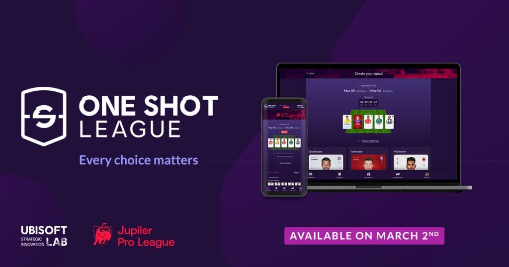 Ubisoft and Belgian Pro League partner for One Shot League blockchain fantasy soccer ubisoft main asset OSL 1200x630 en