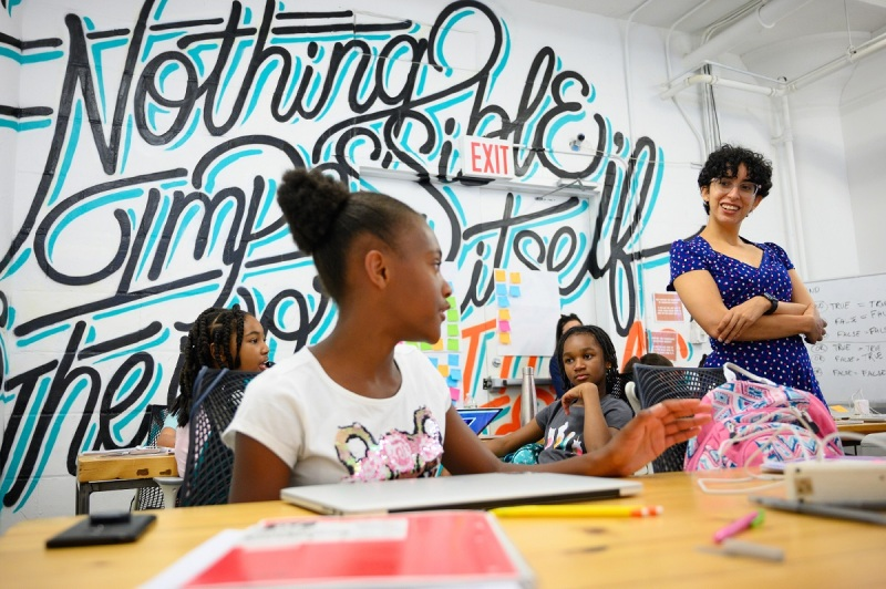 Zynga pledges $100,000 for Girls Who Code for International Women's Day zynga Campus2019 4808 1