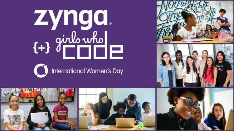 Zynga has teamed up with Girls Who Code.