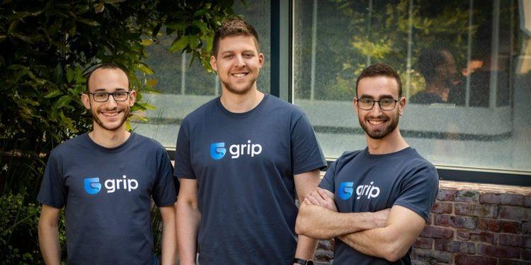 Grip Security cofounders (left to right): Idan Fast (CTO), Lior Yaari (CEO), Alon Shenkler (VP R&D).