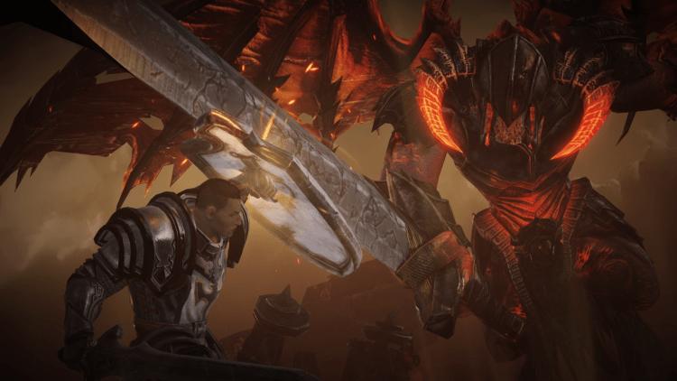 The Crusader in Diablo: Immortal.