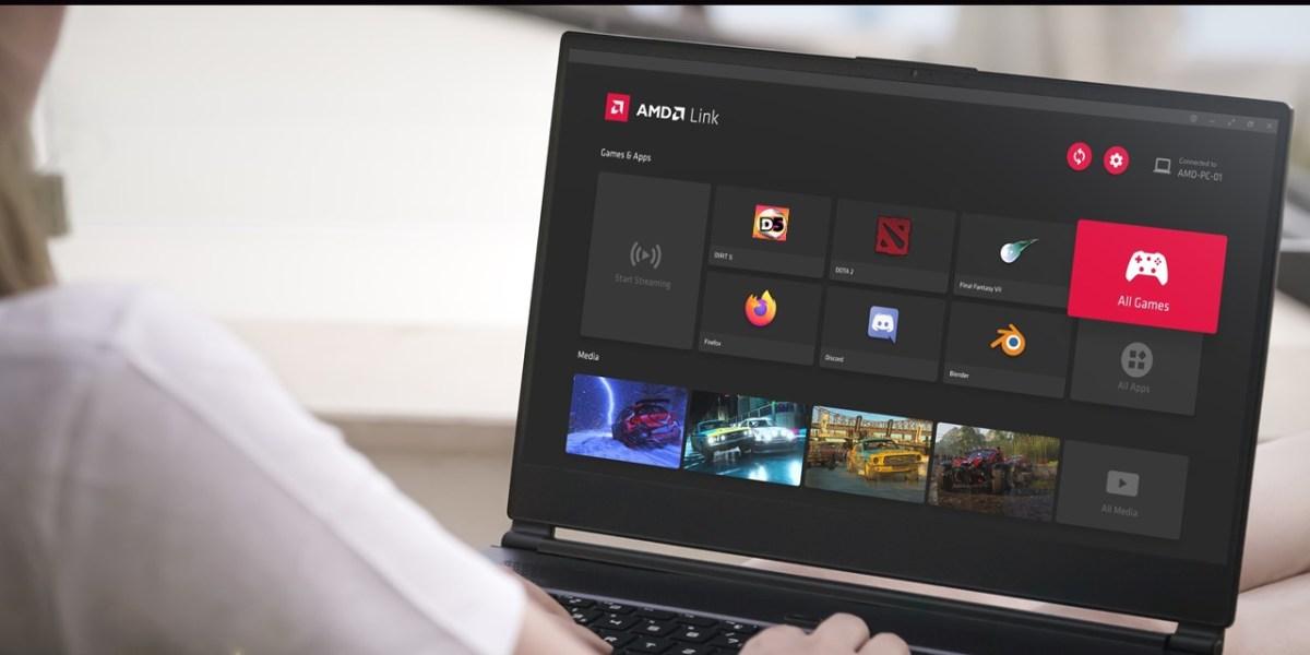 AMD Link on Windows.